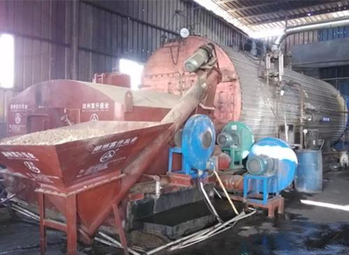 造纸厂锅炉改造