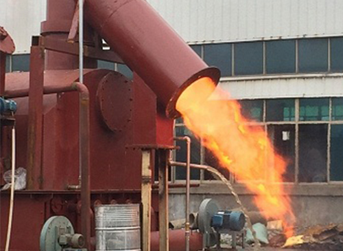 生物质木片气化炉
